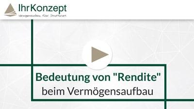 Video zum Vermögensaufbau 3 - Die Bedeutung von Rendite beim Vermögensaufbau